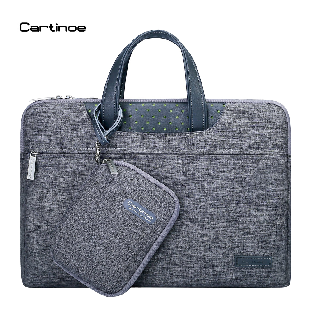 2017 Fashion Cartinoe 11 12 13 14 15.6 inch Laptop Bag Case Computer Sleeve Briefcase Men Women Handbag for Macbook Air Pro Case laptop 14 13 3 12 11 inch fashion hard shell notebook bag portable computer
