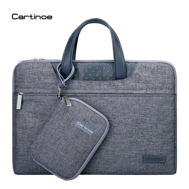 2017 Fashion Cartinoe 11 12 13 14 15.6 inch Laptop Bag Case Computer Sleeve Briefcase Men Women Handbag for Macbook Air Pro Case