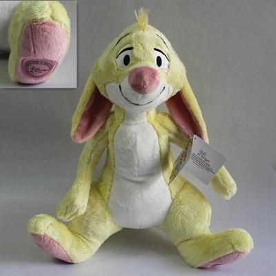 1pcs 35cm Yellow Rabbit plush doll Eeyore Donkey Bear Tigger Tiger Piglet pig Plush Toy Cute Stuffed Animals Kids Toys