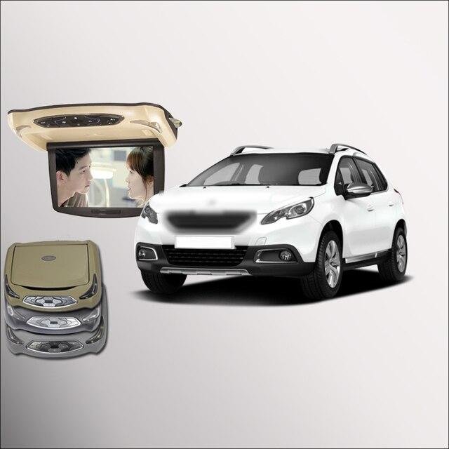 BigBigRoad For Peugeot 2008 Car Roof Mounted in car LED Digital ...