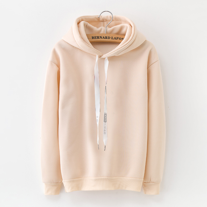 HTB1DaO6siCYBuNkHFCcq6AHtVXaf - Hoodies Women 2018 Brand Female Long Sleeve Solid Color Hooded Sweatshirt Hoodie Tracksuit Sweat Coat Casual Sportswear S-3XL