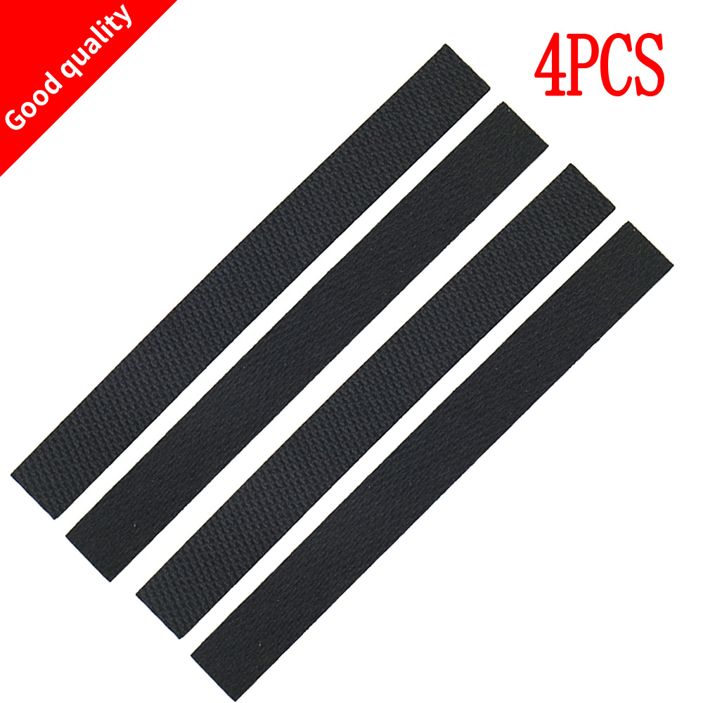 4pcs wheel tire Leather Fetal skin for iRobot braava 320 380 381 380T 390 390T Mint 4200 4205 5200 5200C