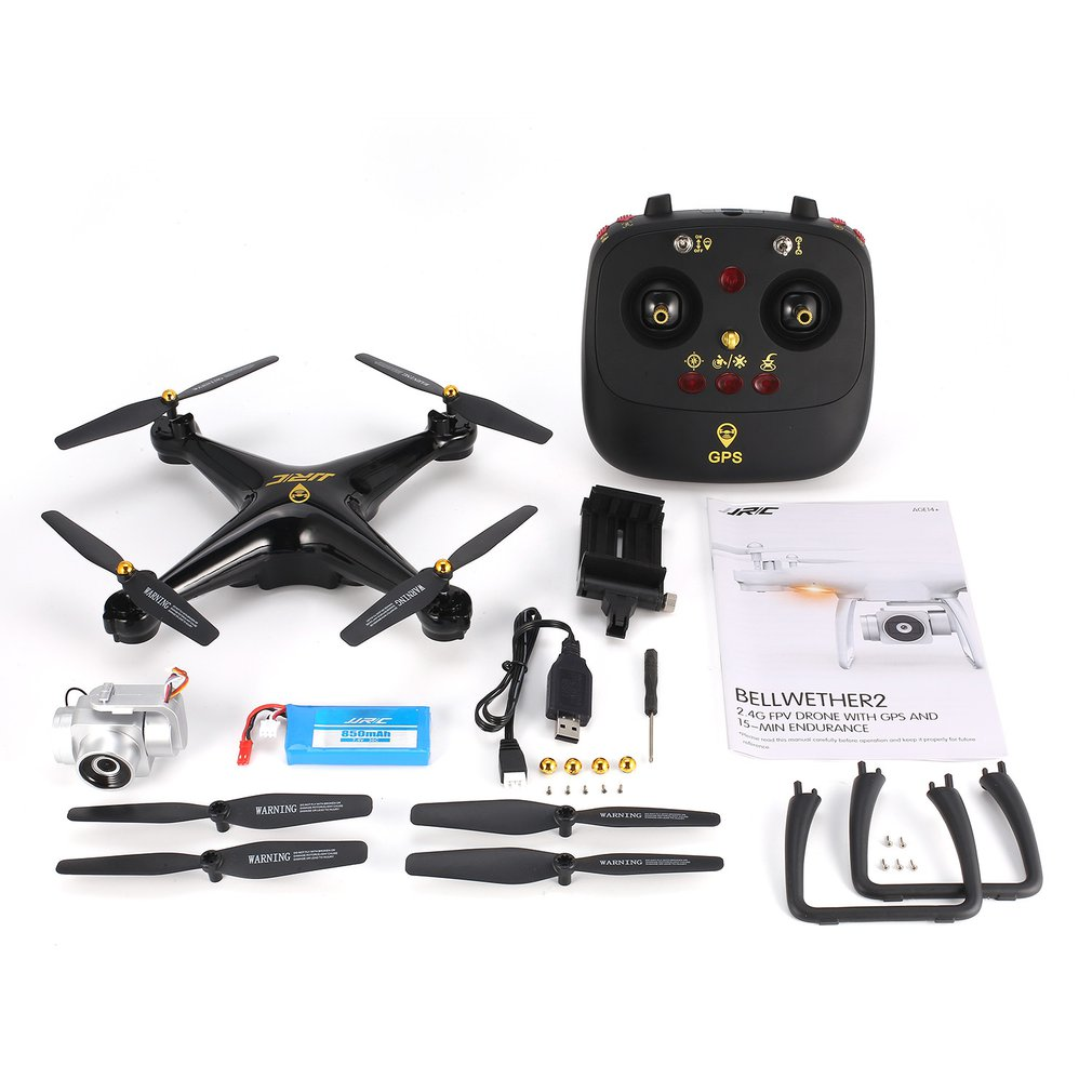 JRC H68G GPS Drone With 1080P HD 5G Wifi FPV Camera Quadrocopter Selfie Dual Altitude Hold Drone Auto Follow Helicopter RC Model Квадрокоптер