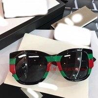 WC0788 2018 роскошные взлетно посадочной полосы Солнцезащитные очки женские брендовые дизайнерские солнцезащитные очки для женщин Картер очки