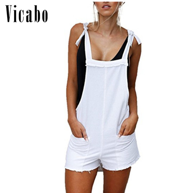 premium selection 6cfca ee8b6 Vicabo-Loose-Dungarees-rompers-for-women-summer-white-shorts-pants-Trousers- womens-jumpsuit-casual-loose-cotton.jpg 640x640.jpg