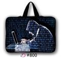 """Hacker de Neoprene 10 10.1 12 11.6 """"13 13.3 15 15.4 14.4 17 17.3 Notebook Laptop Manga Computador Casos Cobrir Saco Alça de Transporte"""