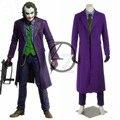 2017 de Halloween Batman The Dark Knight Rise Joker Trajes Película Cosplay Traje