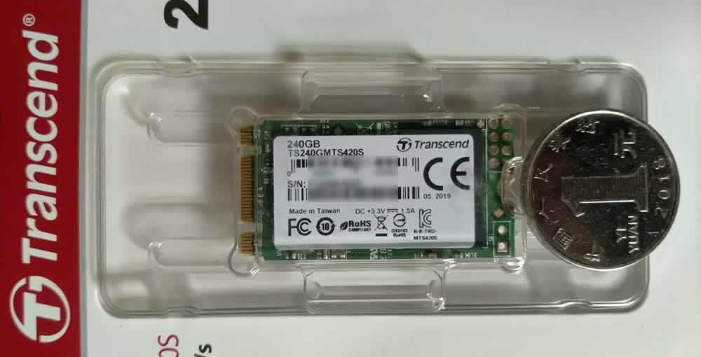 创见Transcend SSD固态硬盘包装