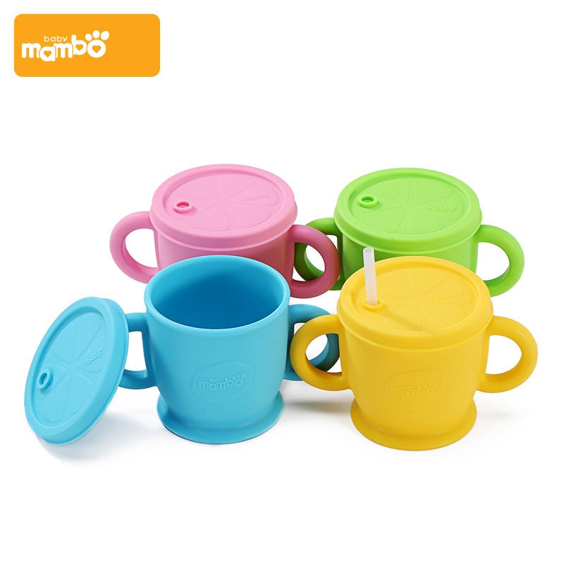 Mambobaby baby cup silicone cover kids cup with straw - Cups and kids ...