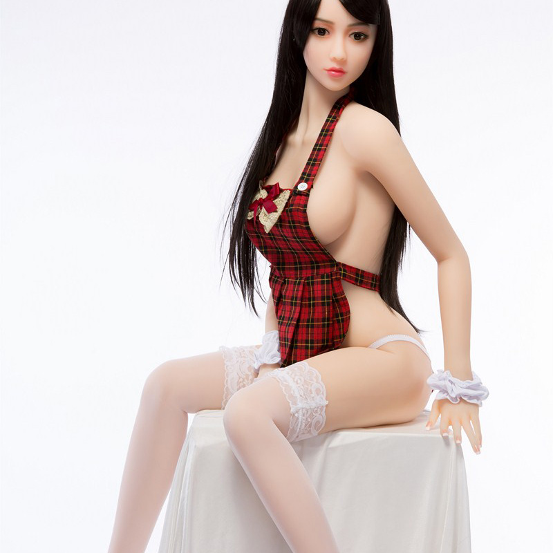 158cm Real Silicone TPE Mtal Skeleton <font><b>Sex</b></font> <font><b>Dolls</b></font> Robot Big Breast Japanese Anime Love <font><b>Doll</b></font> Realistic Adult Toys Sexy Vagina image