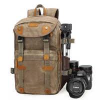 Nuevo bolso de la Cámara Lowepro Batik mochila de la Cámara de lona de gran capacidad impermeable bolsa de la cámara