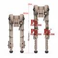 Спорт на открытом воздухе Новый accu-tac sr-5 Снайпер обновление игры ноги Настенные светильники Два ноги 20 линейная направляющая аксессуары для...