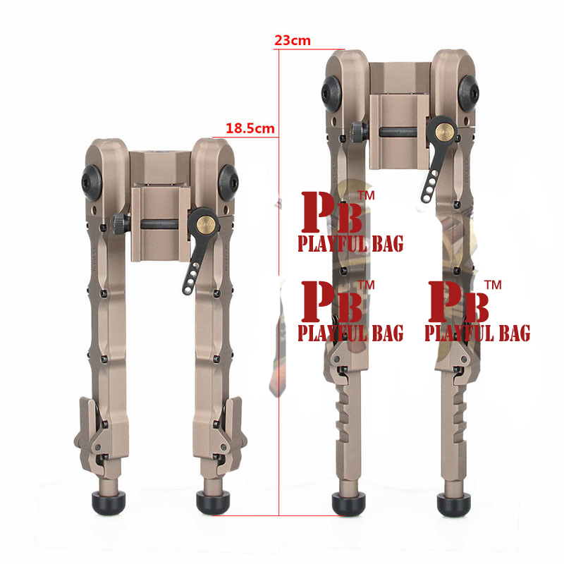 Outdoor sports new accu-tac sr-5 sniper upgrade game foot bracket lighting two legs 20mm guide rail toy gun accessories