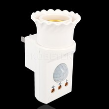 Lamp Holder E27 Led Light Base 170-270V 50/60HZ Automatic Body Motion Infrared IR Sensor E27 Lamp Bulbs Socket US/EU Plug