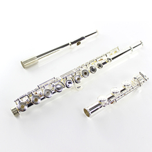 Factory Wholesale 17 hole C flute E Key openings silver-plated flute instrumentos musicais profissional silver plated Pan Flute