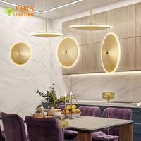 Modern pendant lights UFO hanglamp for home/living room/restaurant decor With Light Source lighting ceiling luminaire suspendu