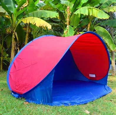 New Outdoor C&ing Hiking Summer Tent UV Protection Fully Automatic Sun Shade Quick Open Tent Pop & New Outdoor Camping Hiking Summer Tent UV Protection Fully ...