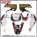 3M KLX110 GRAPHICS KIT Sticker  decalsfor  KLX110 & KX65 MOTO Dirt Pit Bike Parts ROCKSTAR STYLE