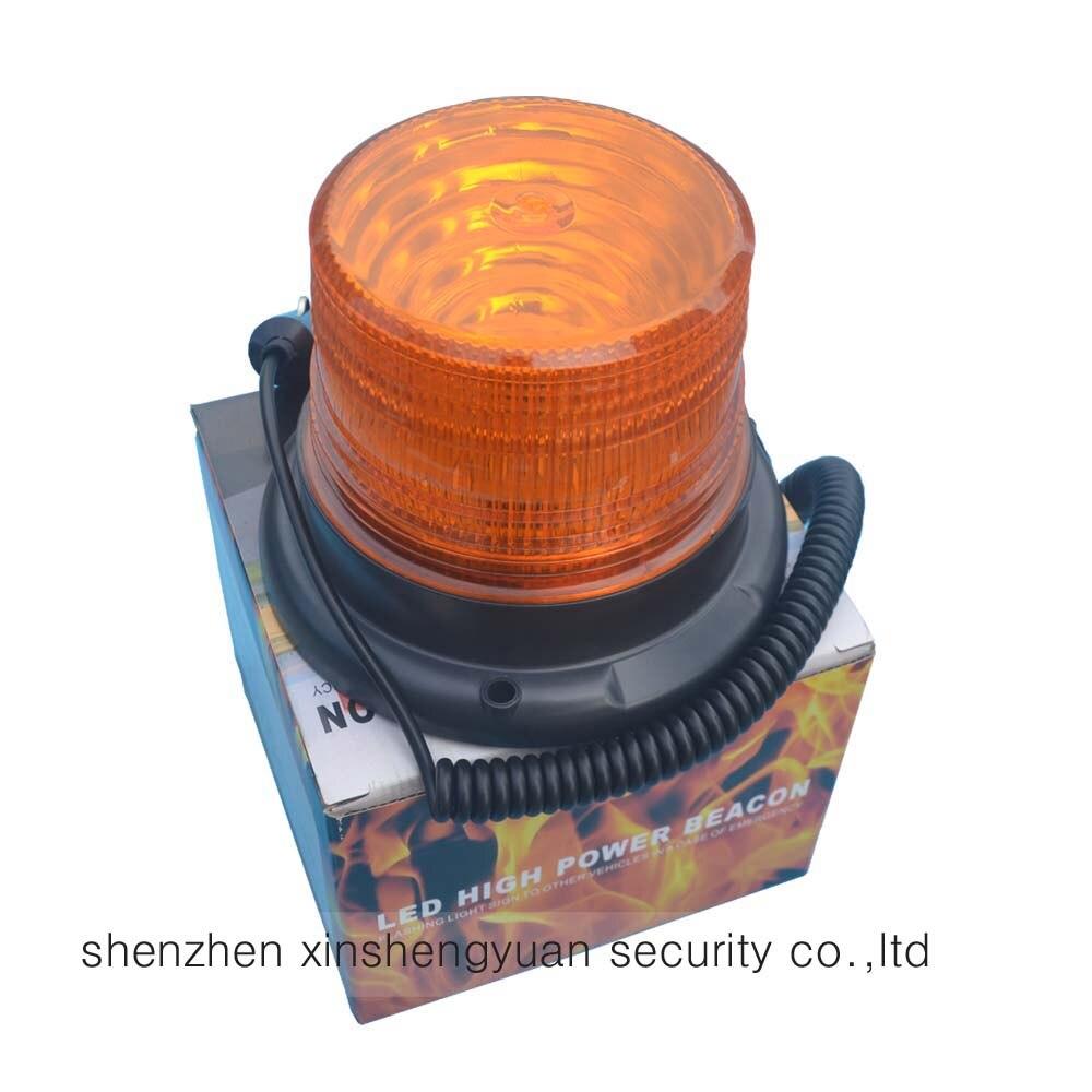 Hot DC12V24V Car Truck Magnetic Warning flash beacon Strobe Emergency light Police lights lamp Amber