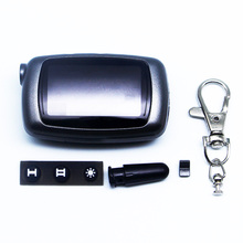 Russia version A9 case keychain for Starline A9 A4 A8 lcd remote two way car alarm system free shipping
