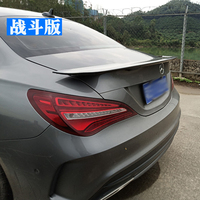 For Mercedes Benz CLA W117 CLA180 CLA200 CLA250 CLA45 ABS Plastic Painting Color Rear Wing Spoilers Auto Accessories
