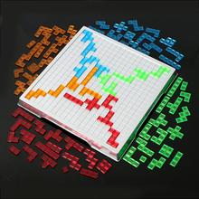 Gra strategiczna Blokus wersja blokus szeroka gra śmieszne zabawki dla całej rodziny 2 graczy i 4 graczy do wyboru tanie tanio Geometryczny kształt Sudoku puzzle WL-HS-2788-9 small parts not for kids under 3 years Unisex Z tworzywa sztucznego 6 lat