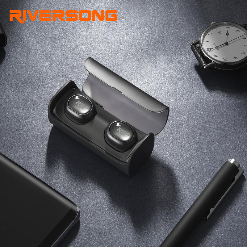 Riversong AirX 2 Mini business earbuds bluetooth earphones wireless 3D stereo headphones headset In-ear Invisible Earpieces Q29 portable stereo headphone mini invisible wireless bluetooth v4 1 surround sound earbuds earphones in ear headset with microphone