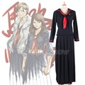 Majisuka Gakuen JK Furyo School Student Sailor Uniform Full Length Pleated Skirt