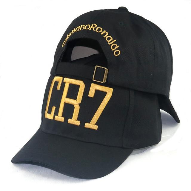 73603a3f876b8 CR7 bone embroidery baseball cap C Ronaldo caps adjustable cotton snapback  hat CR7 cap hat sports hat casual caps