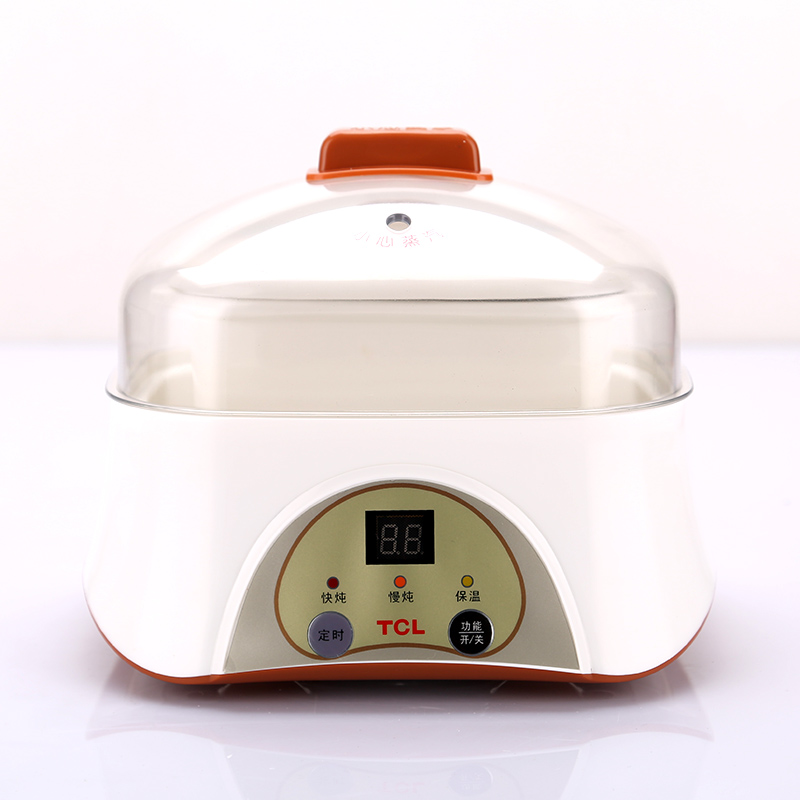 1L Multi-use Stew Pot with Best Quality Ceramic Liner Microcomputer Control Multi Cooker 200W LCD Display Health Preserve Pot best quality original black lcd display