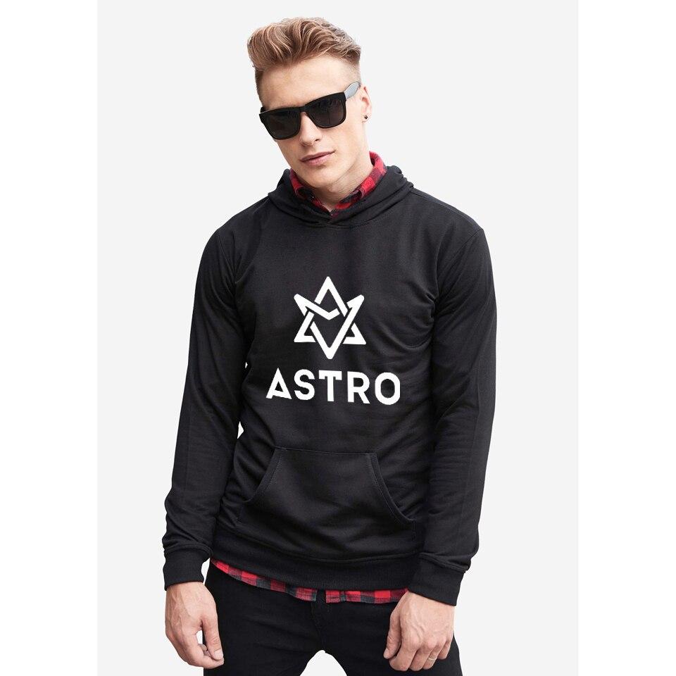 ASTRO Kpop Hoodies Moletom STAR Group Hoodie And Sweatshirt casual Autumn Winter men clothing streetwear style jung kook bts persona