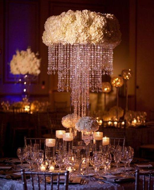 2016 acrylic crystal wedding centerpiece table chandelier 80cm 2016 acrylic crystal wedding centerpiece table chandelier 80cm tall diameter is 35cm 10pcslot aloadofball Gallery