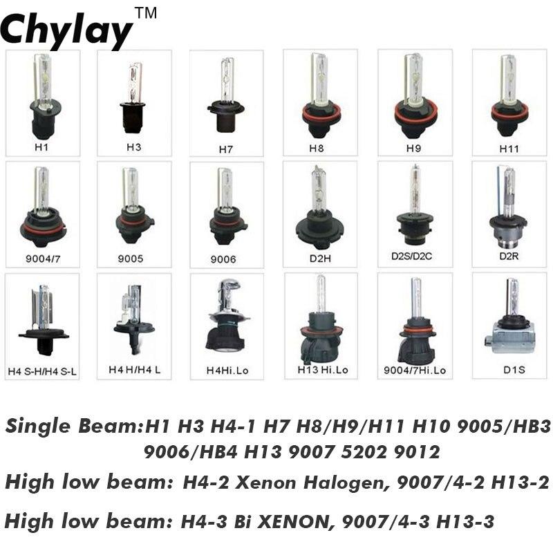 1 dəst h4 ksenon lampalar dəsti G500 gizli dönüşüm dəsti xenon - Avtomobil işıqları - Fotoqrafiya 6
