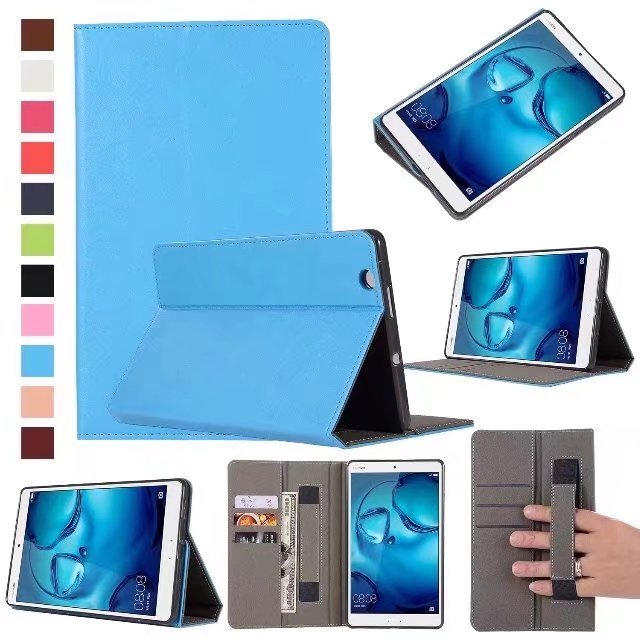 Tablets & E-books Case pen Attractive Designs; Case For Huawei Mediapad T3 7.0 3g Bg2-u01 7 Inch Tablet Protective Cover Smart Leather T3 7 3g Cases Computer & Office