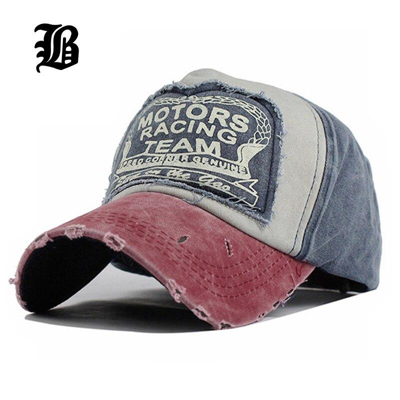 [FLB] en gros Printemps Coton Casquette de Baseball Snapback Chapeau D'été Cap Hip Hop Équipée Cap Chapeaux Pour Hommes Femmes Broyage Multicolore