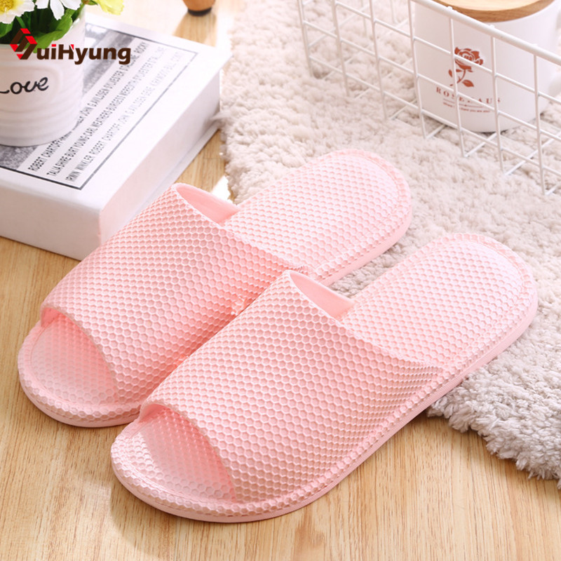 Suihyung Women's Shoes Soft Bottom Non-slip Indoor Slippers Home Bathroom Plastic Slippers Honeycomb Shape Beach Slippers outdoor sports double shoulder bag student bag computer bag waterproof pack free shipping