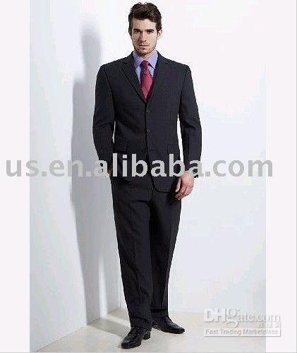 US $200 2 |BZ1019029,mens suits stores,accept Escrow, handsome men  suit,charming business suit,wedding suit-in Blazers from Men's Clothing on