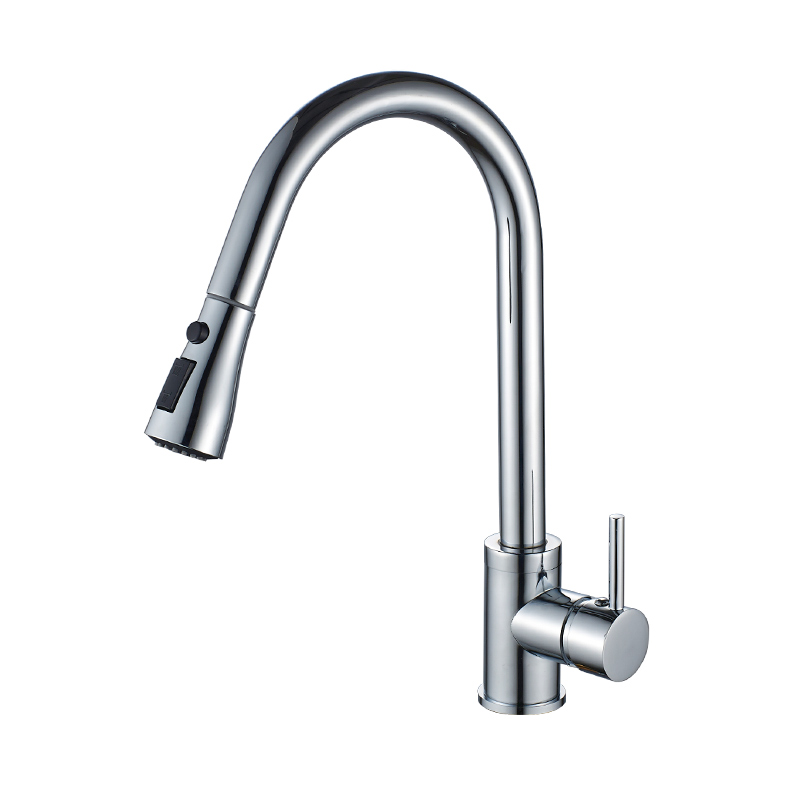 SSY Kitchen Faucet Brass Brushed Nickel High Arch Kitchen Sink Faucet Pull Out Rotation Spray Mixer Tap xoxo kitchen faucet brass brushed nickel high arch kitchen sink faucet pull out rotation spray mixer tap torneira cozinha 83014