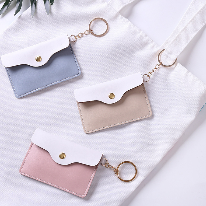 2019 New Style 1 Pcs Cute Coins-purses Harajuku Style Mini Wallet Girl Key-bag Small Coin-bag For Student Purse Stationery Card Holders Sophisticated Technologies