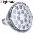 Hot Selling LED Induction Grow Light E27 18W 18 LEDs LED Grow Light Hydroponic Plant Lamp For Greenhouse Plants Flowers