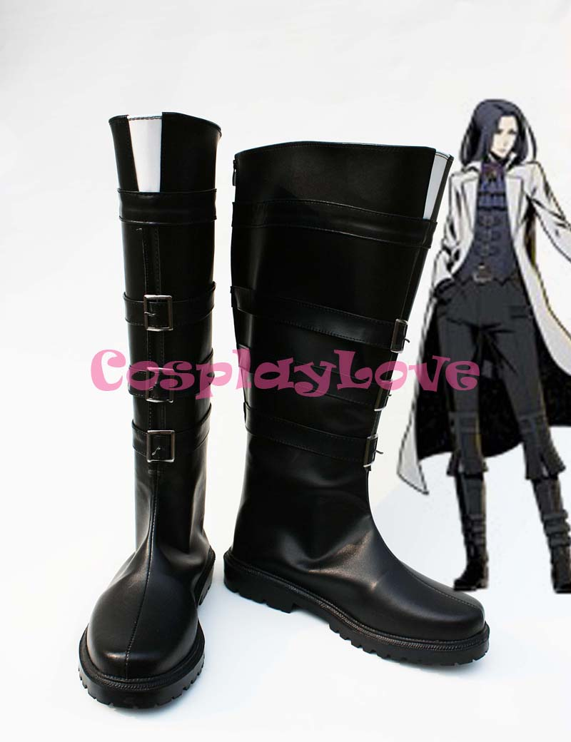 Shoes Costumes & Accessories Unlight Doctor Walken Black Halloween Cosplay Boots Shoes Game Party Cosplay Boots Custom Made For Adult Men Shoes