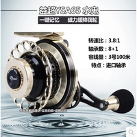 RUKE yichao полностью Металлическая Рыболовная катушка круг лески для рыбы плот рыбацкое колесо 9 Подшипники Бесплатная доставка