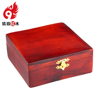 Mahogany wood jewelry box jewelry bracelet jewelry single classical rosewood storage box upscale gift box