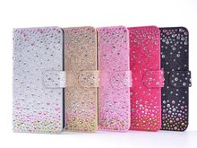 Diamante Jewel Bling блестящие кожа флип Бумажник телефон Чехол 6 6 S 7/7 плюс