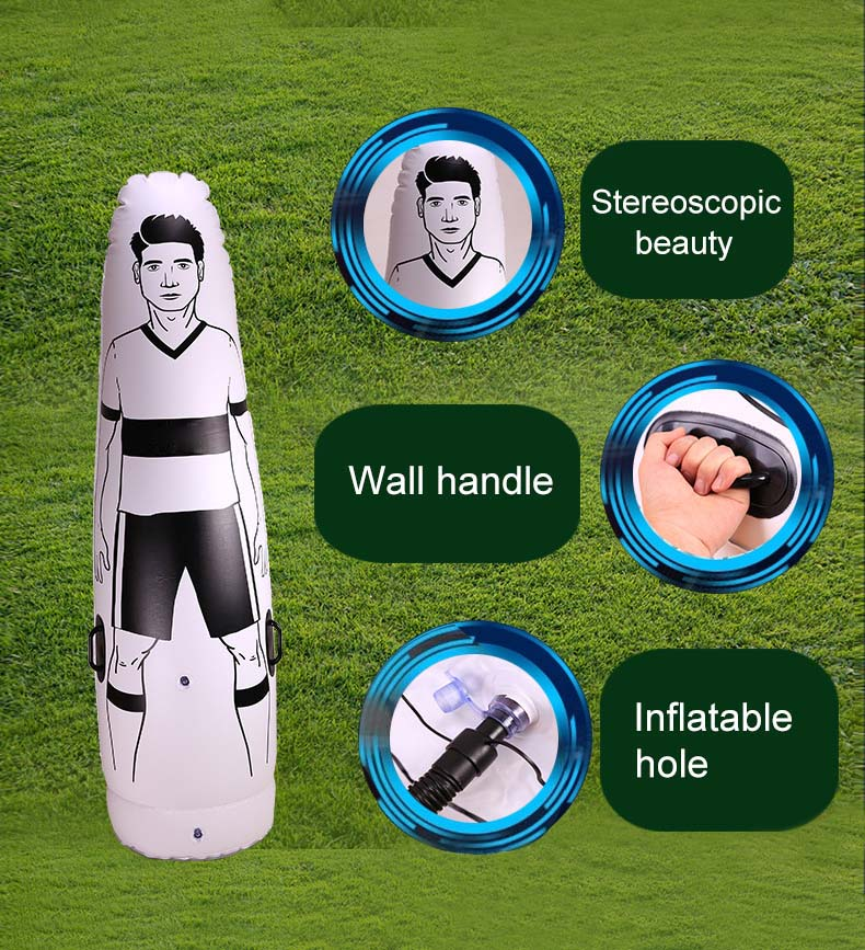 1.75m Adult Children Inflatable Football Training Goal Keeper Tumbler Air Soccer Train Dummy SKD881.75m Adult Children Inflatable Football Training Goal Keeper Tumbler Air Soccer Train Dummy SKD88