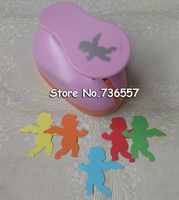 Free Shipping Angel Punches 2 Craft Punch Paper Cutter Scrapbook Child Craft Tool Hole Punches Embossing