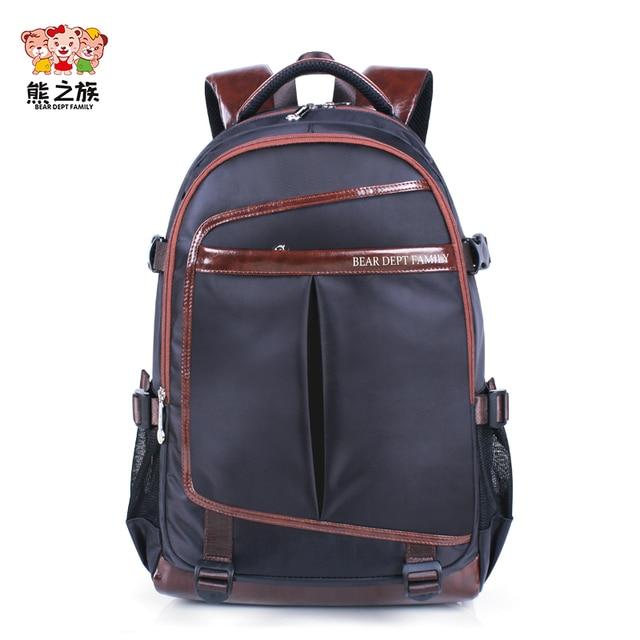 db026962ce4 BEAR DEPT FAMILY Brand Children Backpacks Kids School Shoulder Backpack  Children Nylon Girls Boys Schoolbags Fashion