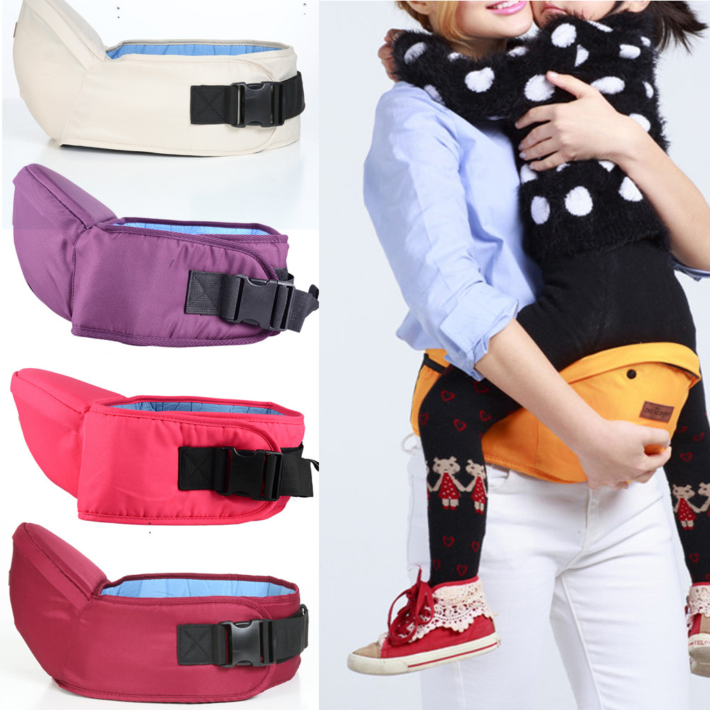 Porte Bebe Baby Carrier Hipseat Walkers Baby Sling Backpack Belt Waist Hold Infant Hip Seat Baby Sling #g35US