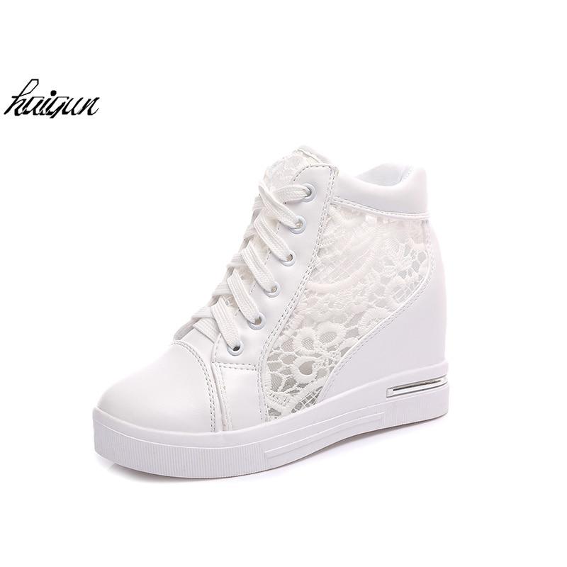 Sneakers Women Fashion Breathable Platform Shoe Casual Female Footwear Leisure Ladies White Shoes Womens Vulcanize Shoes