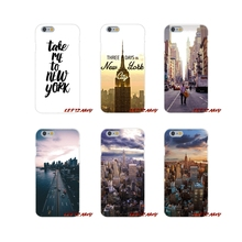 New York City Accessories Phone Cases Covers For Samsung Galaxy S3 S4 S5 MINI S6 S7 edge S8 S9 Plus Note 2 3 4 5 8